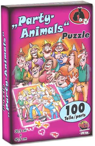 PUZZLE 'PARTY ANIMALS'