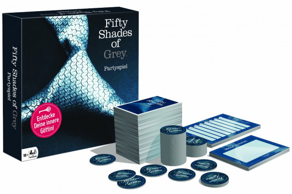 FIFTY SHADES OF GREY - PARTYSPIEL [Fifty Shades of Grey]