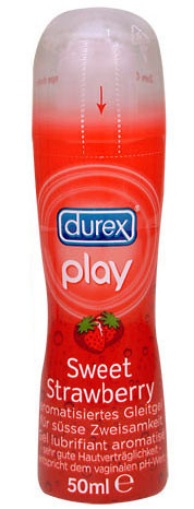 PLAY - SWEET STRAWBERRY [Durex] GLEITGEL 50 ml