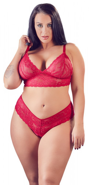 BH-SET - QUEENSIZE [Cottelli Collection] rot