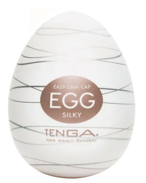 SILKY EGG - EASY ONA-CAP [TENGA] MASTURBATOR
