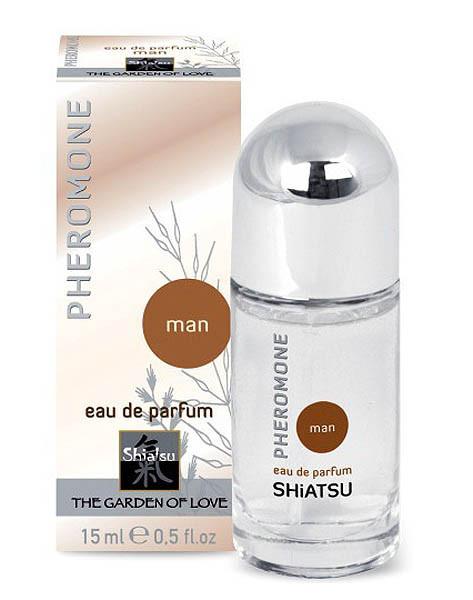 PHEROMONE MAN - EAU DE PARFUM [Shiatsu] 15 ml