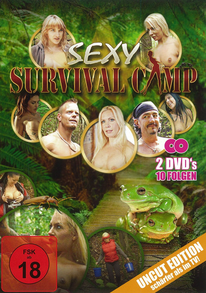SEXY SURVIVAL CAMP [Intimate Film] DVD 2 Disc-Set