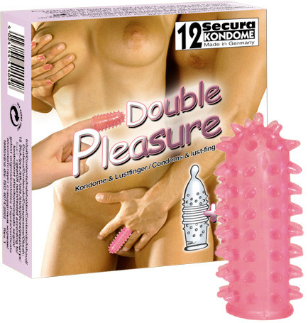 DOUBLE PLEASURE [Secura] 12er Pack + Lustfinger