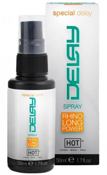 DELAY SPRAY - RHINO LONG POWER [Hot] 50 ml