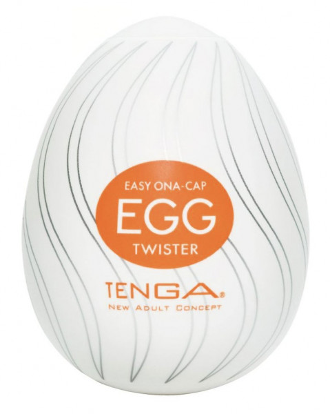 TWISTER EGG - EASY ONA-CAP [TENGA] MASTURBATOR
