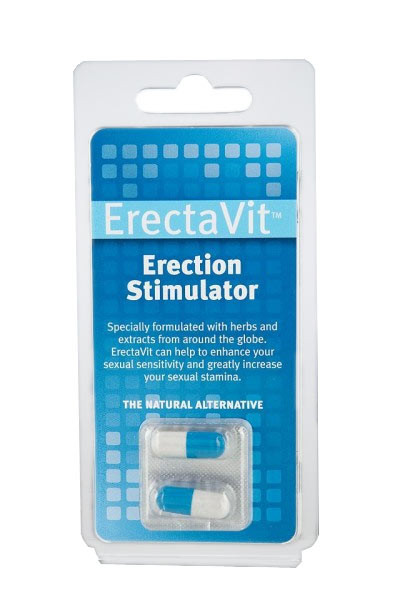 ERECTAVIT ERECTION STIMULATOR [ErectaVit] 2 Stück