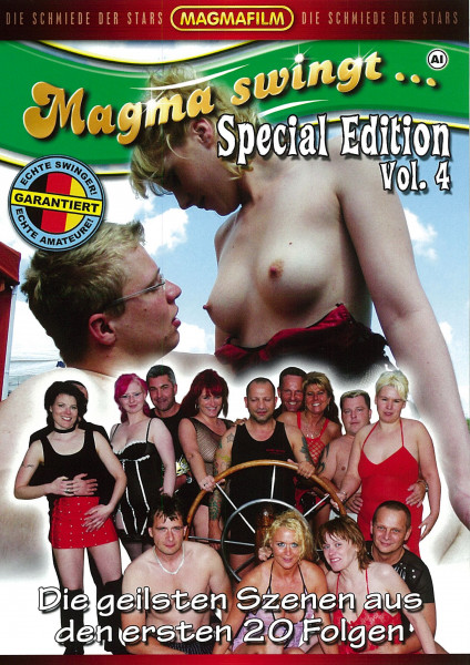 MAGMA SWINGT... SPECIAL EDITION VOL. 4 [Magmafilm] DVD