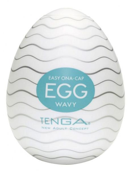 WAVY EGG - EASY ONA-CAP [TENGA] MASTURBATOR