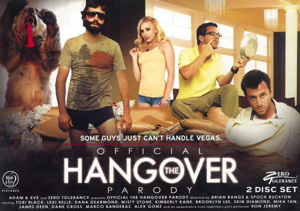 THE OFFICIAL HANGOVER PARODY [Zero Tolerance] DVD 2 Disc-Set