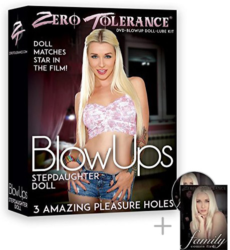 BLOWUPS - STEPDAUGHTER DOLL + DVD [Zero Tolerance] haut