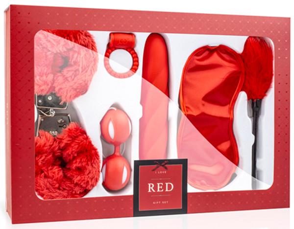 I LOVE RED - GESCHENKSET [LoveBoxxx] rot