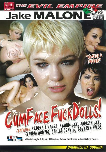 CUM FACE FUCK DOLLS! [Evil Angel] DVD