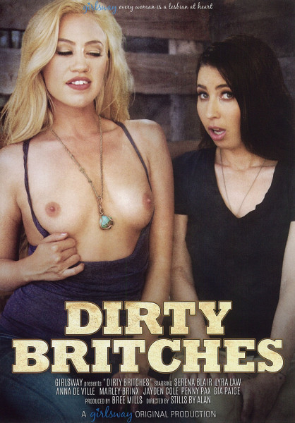 DIRTY BRITCHES [Girlsway] DVD