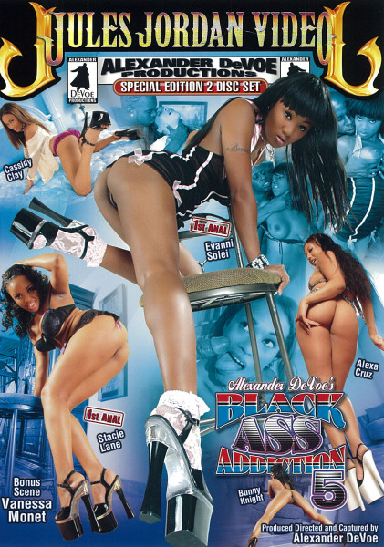 BLACK ASS ADDICTION 5 [Jules Jordan Video] DVD 2 Disc-Set