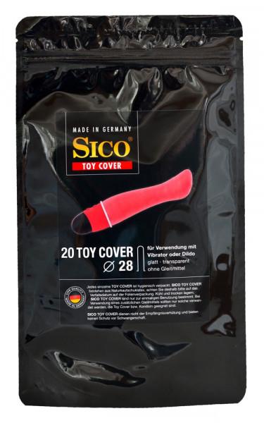 TOY-COVER [Sico] 20 Stück - transparent