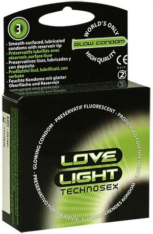 LOVE LIGHT TECHNOSEX [Global Protection] 3er Pack