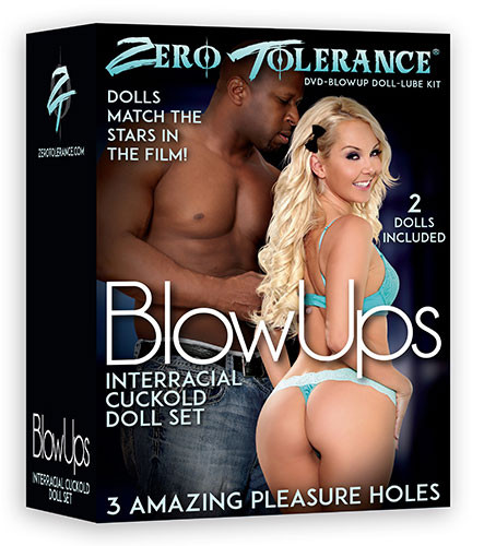 INTERRACIAL CUCKOLD DOLL-SET + DVD [Zero Tolerance] haut
